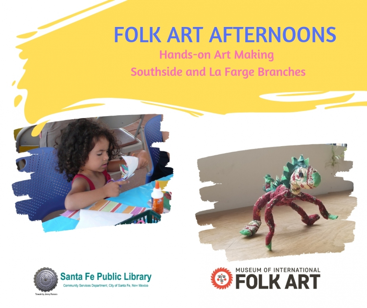 Folk Art Afternoons at the Libraries