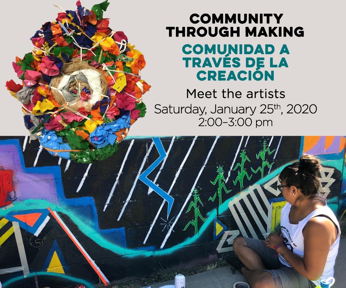 Public Reception with artist gallery talks