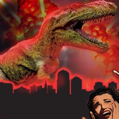 Bisti Beast Meets Godzilla