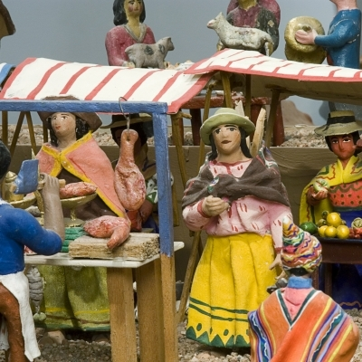 Virtual Tour Folk Art Focus on Five