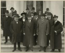 President Taft after the statehood signing