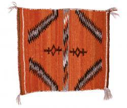Top of Double-Sided Saddle Blanket