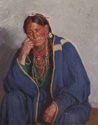 Taos Indian Portrait
