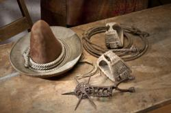 Artifacts from Cowboys Real and Imagined