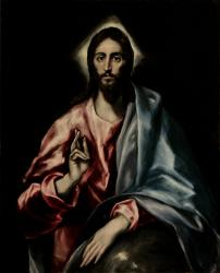 El Greco, The Savior (from the Apostles series)