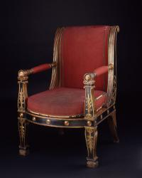 Jacob Frères, armchair (fauteuil) from the Council Room (Salle du Conseil),