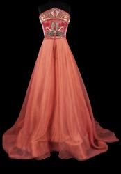 Orlando Dugi, evening gown (from the Red Collection)