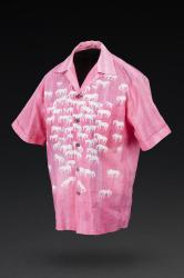 Front view of men's sport shirt