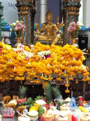 Erawan Shrine, Bangkok, Thailand