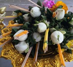 Thai Buddhist Offering