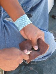Example of Flintknapping