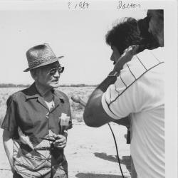 Minoru Yasui, Filming at the site of the former Minidoka War Relocation Authority Camp