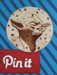 When Yoda on a Tortilla Comes Along You Must Pin It