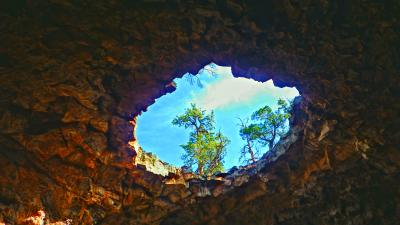 Photo 1: NatureScapes 2014 first place: Stone Skylight, Photographer: Evan Curtis