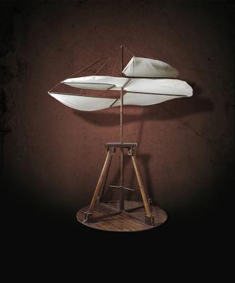 Aerial Screw, Da Vinci -The Genius Exhibition, Courtesy: Grand Exhibitions