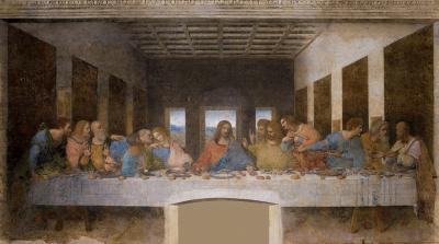 The Last Supper, Da Vinci -The Genius Exhibition, Courtesy: Grand Exhibitions