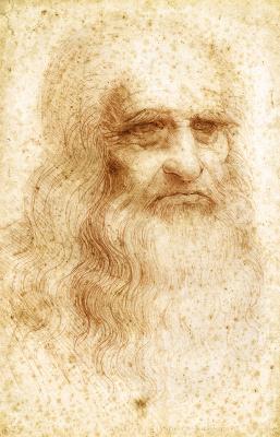 Self Portrait, Da Vinci -The Genius Exhibition, Courtesy: Grand Exhibitions