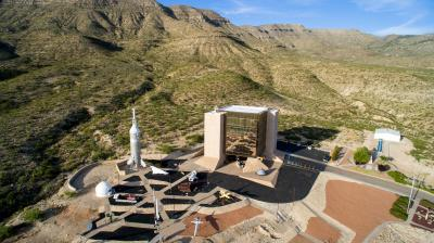New Mexico Museum of Space History aerial, Photo: Dan Monaghan