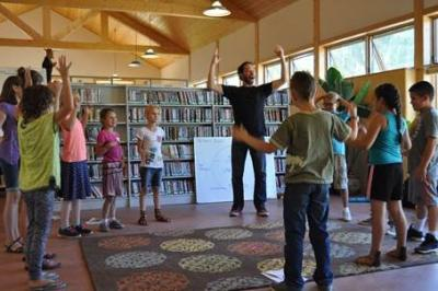 Embudo Valley Library & Community Center Summer Reading Program Collaborative with Santa Fe Opera