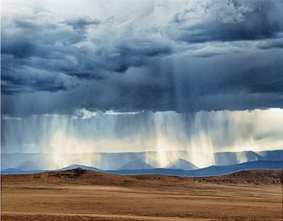 First Place: Virga, Cliff Wood, 2017 Naturescapes