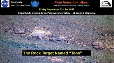 Mars Rover Taos