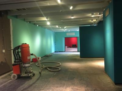 Museum of Art Renovation Gallery Floor