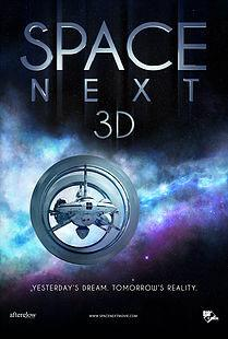 Space Next 3D Poster