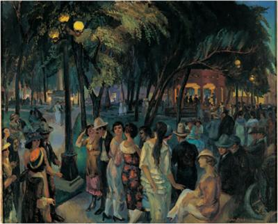 John Sloan, Music in the Plaza