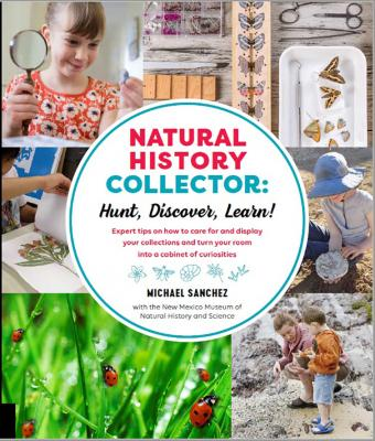 Natural History Collector: Hunt Discover Learn book cover. Courtesy: Quarto Knows