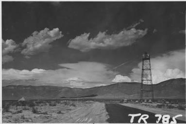 Tower at Trinity Site, 1945, (Negative Number 147362), Courtesy Palace of the Governors Photo Archives (NMHM/DCA)