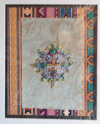 Batik artwork by the late Las Cruces artist Connie Garcia