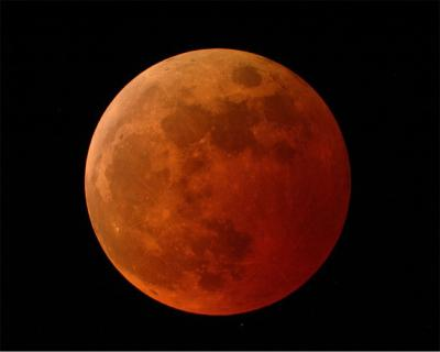 Lunar Eclipse, Photo courtesy: NASA.gov