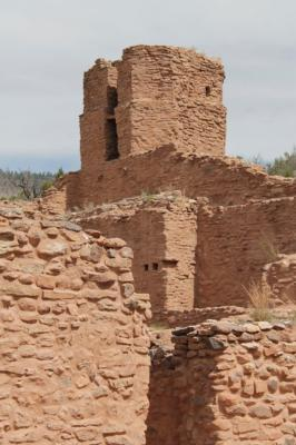 Bell tower at Jemez Historic Site, photo by Nika Sunduram