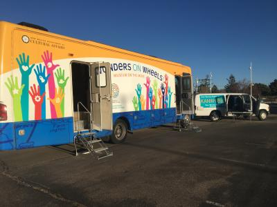 Wonder on Wheels Mobile Museum Debuts Museum of Indian Arts and Culture Exhibit 2018