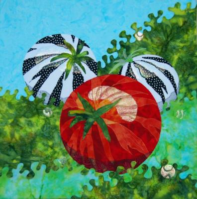 Zebra Striped Tomatoes by Michelle Jackson