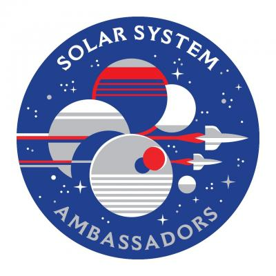 30-NMMNHS- First Friday May 4 - Solar System Ambassadors Logo