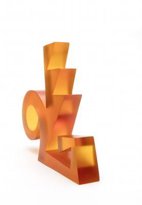 Element III Tammy Garcia (Santa Clara, b. 1969) Circa 2007 Cast glass 59730/12