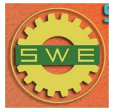 Society of Women Engineers CNM logo