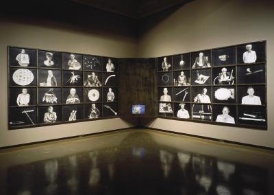 The Meeting Installation, by Meridel Rubenstein.