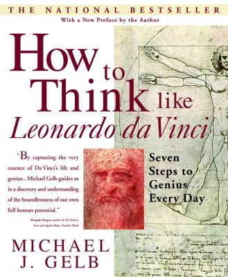 How to Think like Leonardo da Vinci book jacket, Penguin Random House