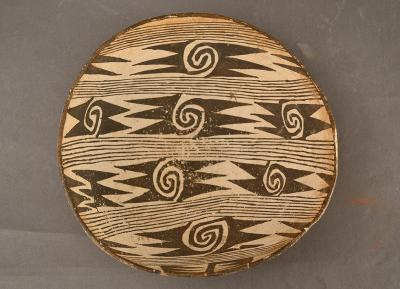 ed Mesa Black-on-white bowl, 875 – 1050 AD, Pre-contact bowl from the Museum of Indian Arts & Culture collections. Photo courtesy of the Museum of Indian Arts & Culture