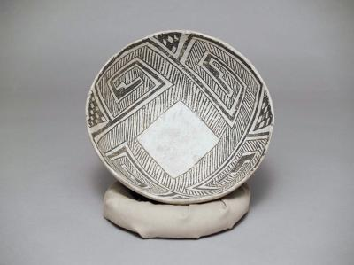 Gallup Black-on-white bowl, 980 – 1150 AD. Pre-contact bowl from the Museum of Indian Arts & Culture collections. Photo courtesy of the Museum of Indian Arts & Culture