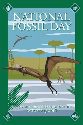 2018 National Fossil Day poster