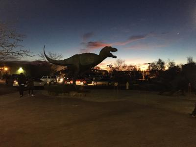 30-NMMNHS-Dinosaur silhouette NM Museum of Natural History & Science, Courtesy: NM Dept. of Cultural Affairs.