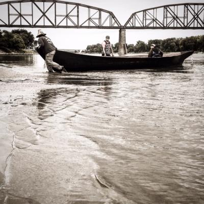 Putting Canoes in the Cannonball River