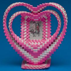Heart Picture Frame, artist unknown