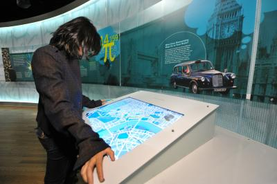 London Taxi Interactive Exhibit