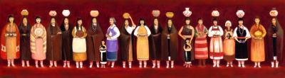 Women of the Pueblos