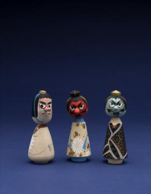 Tengu Toy Figures (Kokeshi)