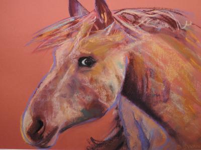 Dinah Swan's horse